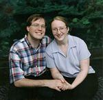 Matthew and Heather at the zoo