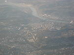 Pittsburgh from the airplane